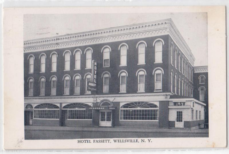 Hotel Fett Wellsville Ny