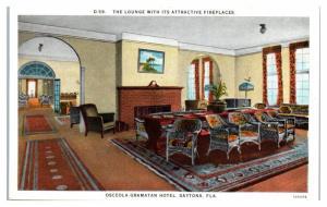 Osceola-Gramatan Hotel Lounge, Daytona, FL Postcard