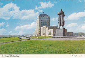 Confederation Bldg , ST. JOHN´S , NEWFOUNDLAND , Canada , 50-70s