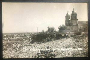 Mint Victoria Tamaulipas  Mexico Postcard Real Picture RPPC Guadalupe Chapel