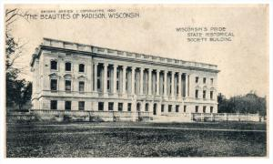 Wisconsin Madison   State Historical Society Bldg.  PMC