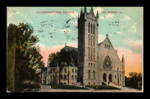 DES MOINES IOWA CONGREGATIONAL CHURCH
