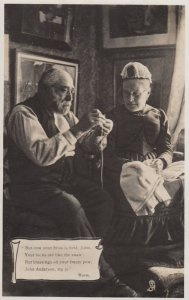 RP: Older Couple sewing & knitting , 00-10s : TUCK 5189