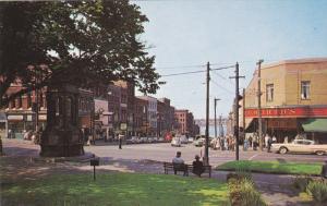 SAINT JOHN, New Brunswick, Canada; King Street, Classic Cars, Woolworths, 40-60s