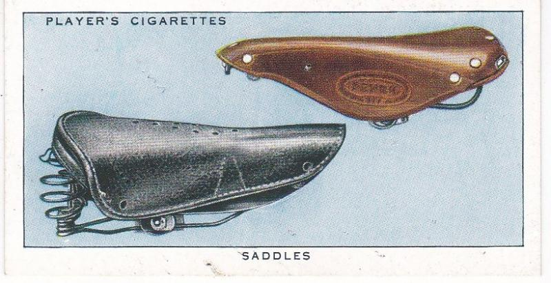Cigarette Cards Players CYCLING No 39 Saddles
