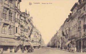 Avenue Des Alles , Louvain (Flemish Brabant), Belgium, 1900-1910s