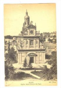 BLOIS , France, 1910s ; Eglise Saint-Vincent-de-Paul