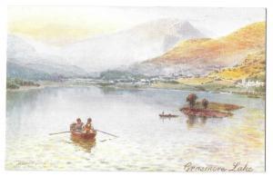 Henry Wimbush Oilette PPC Grasmere Lake Unposted By R Tuck