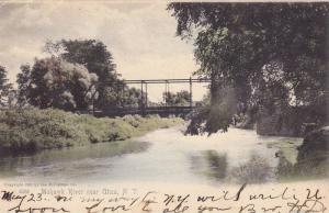 Scenic view, Mohawk River near Utica,  New York, PU_1905