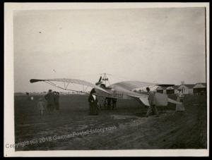 Germany Empire 1912 Johannisthal Flugwoche Geest Moewe Airplane Original P 64449