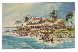 Pre-Opening Sketch, Kona Hilton Hotel, Kona, Kailua-Kona, Big Island, Hawaii
