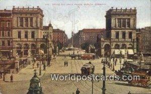 Belle Alliance Place Berlin Germany 1910