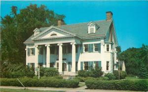Elyria Ohio~Montieth Hall~Colonial Type~Dormer Windows~Ionic Columns~1960s