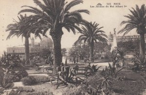 NICE, France, 1928; Les Jardins du Roi Albert-ler