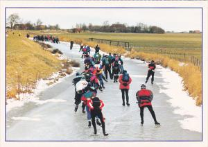 Sweden Toerrijders Ice Skaters Elfstedentocht