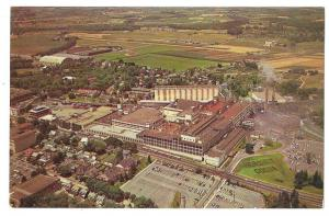 Hershey Factory Cocoa Chocolate Plant Aerial View Postcard