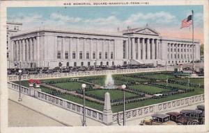 War Memorial Square Nashville Tennessee 1952