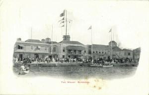Barbados B.W.I., BRIDGETOWN, The Warf (1905) Postcard