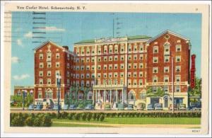 Van Curler Hotel, Schenectady NY