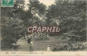 Postcard Old Vichy A Corner of New Park