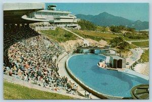 Postcard Hong Kong Wong Chuk Hang Ocean Park Ocean Theatre