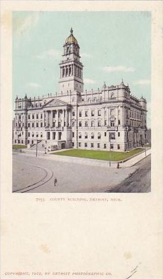 Michigan Detroit Court Building