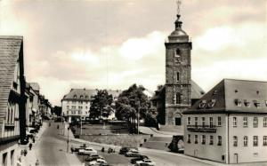 Germany Siegen Marktplatz Nikolaikirche und Rathaus 01.92
