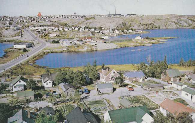 Ross Lake at Flin Flon MB, Manitoba, Canada