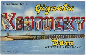 Gigantic Kentucky Dam