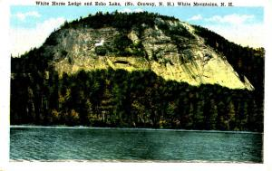 NH - North Conway. White Horse Ledge and Echo Lake