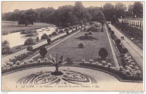 LE LUDE, Le Chateau, Ensemble du jardin Francois, Sarthe, France, 00-10s