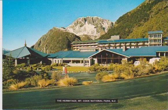 The Hermitage, Mt. Cook National Park, Southern Alps, New Zealand