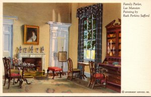 Virginia Arlington Lee Mansion The Family Parlor Painting By Ruth Perkins Saf...