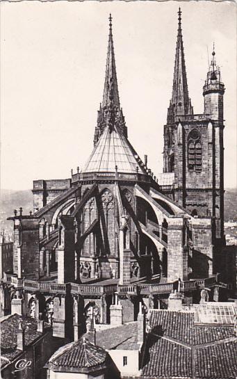 France Clermont Ferrand Abside de la Cathedrale 1962 Photo