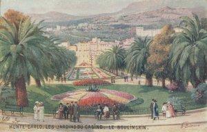 MONTE CARLO, 00-10s; Les Jardines Du Casino, Le Boulingrin , TUCK No 25
