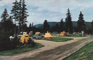 CAPE BRETON, Nova Scotia, 1961; Camping Grounds at Ingonish