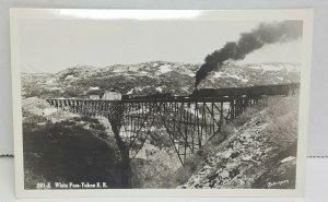 White Pass Yukon Railroad Vintage Postcard