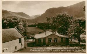 The Hostel & Mourne Montagne, Bryansford, Co Down Irlanda Vero Foto Cartolina