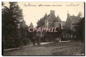 Old Postcard The Tranchee Bellevue