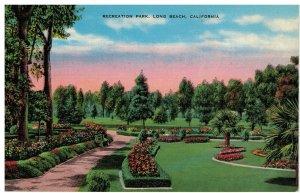Postcard - Recreation Park, Long Beach, California