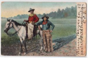 Cowboys, Two of the Boys