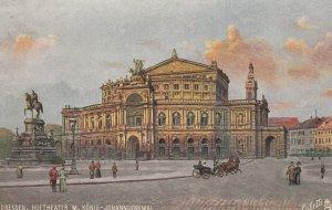 DRESDEN , Germany , 00-10s : Hoftheater ; TUCK 7093