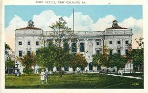 LA, New Orleans, Louisiana, Post Office, C.B. Mason No. 119