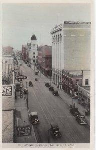 RP; REGINA, Saskatchewan, Canada, PU-1951; 11th Avenue, Looking East