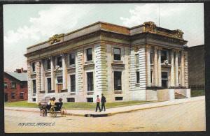 Post Office Zanesville Ohio Unused c1910s