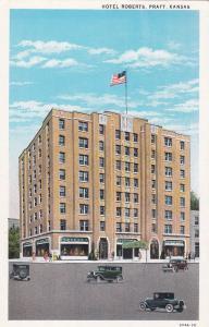 PRATT , Kansas; 1910s ; Hotel Roberts