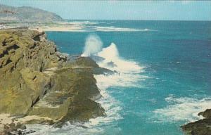 Hawaii Oahu World Famous Blow Hole