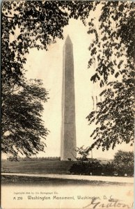 Washington Monument, Washington, D.C. 1908 postcard Retrograph Co.