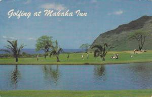 Golf at the Makaha Inn and Country Club HI, Hawaii - pm 1971