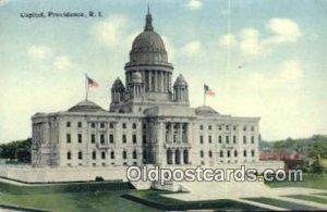 Providence, Rhode Island, RI State Capital USA 1912 wear left bottom corner, ...